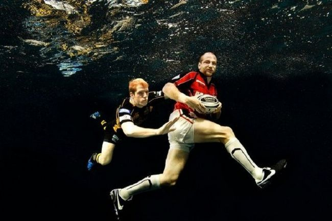 Что такое подводное регби