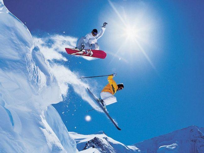 Где кататься на лыжах и сноуборде летом