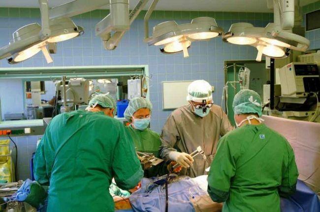 Как была проведена операция с остановкой кровообращения