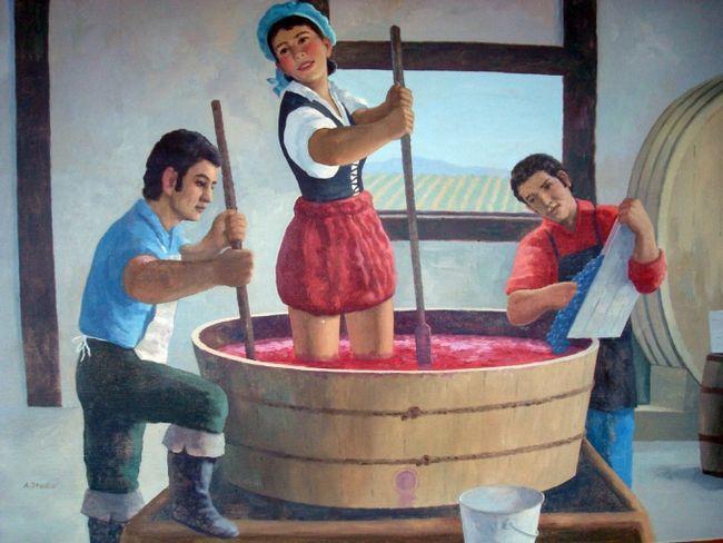 Как делать домашнее вино из винограда