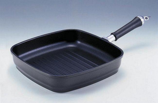 Как готовить на сковороде-гриль