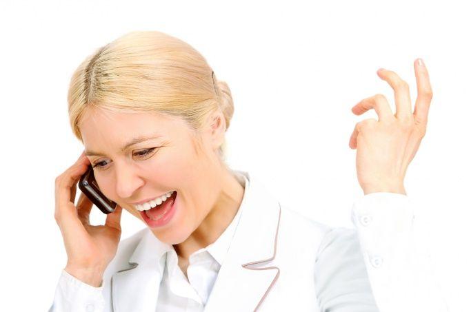 Как говорить по телефону