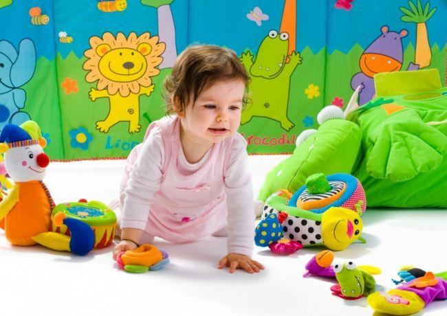 Как играть с годовалым ребенком