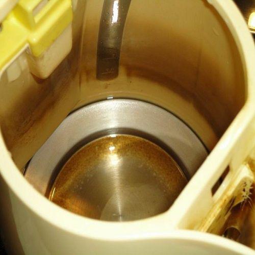 Как избавиться от накипи в электрическом чайнике