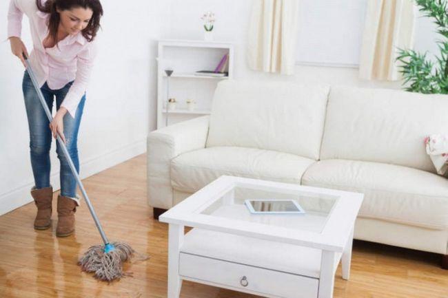 Как мыть полы в квартире