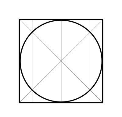 Как найти центр окружности