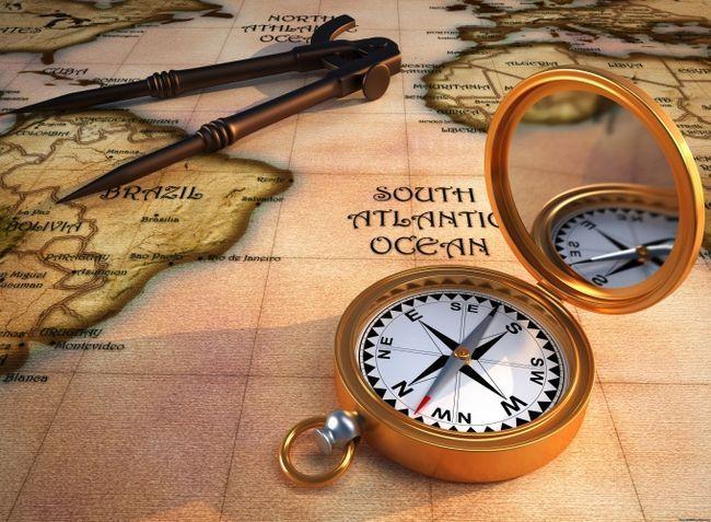 Как найти север без компаса