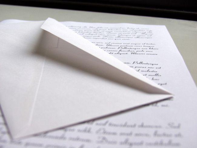 Как написать хорошее письмо