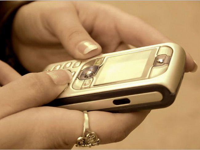 Как написать смс на мобильный телефон