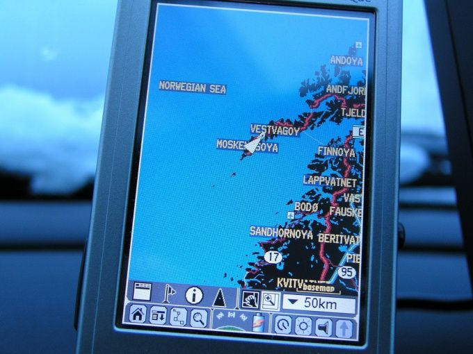 Как настроить навигатор
