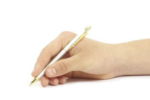 Как научить красиво писать