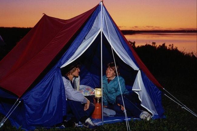 Как не замерзнуть в палатке