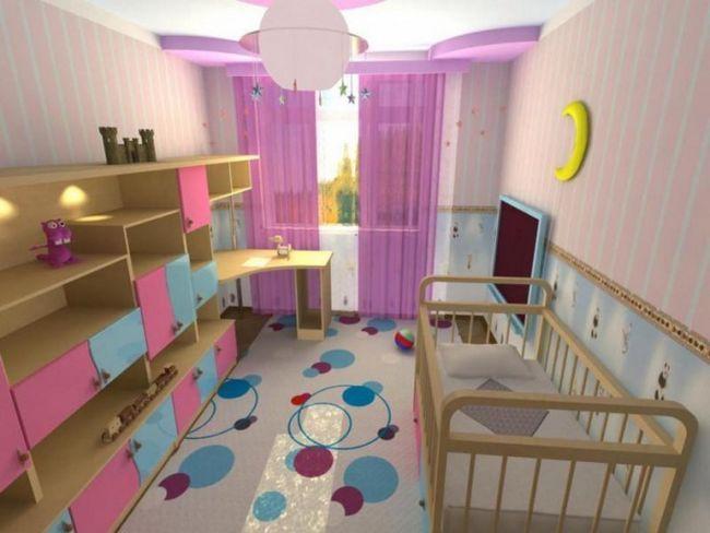 Как обустроить жилую комнату для ребенка