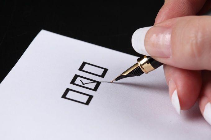 Как оформить анкету