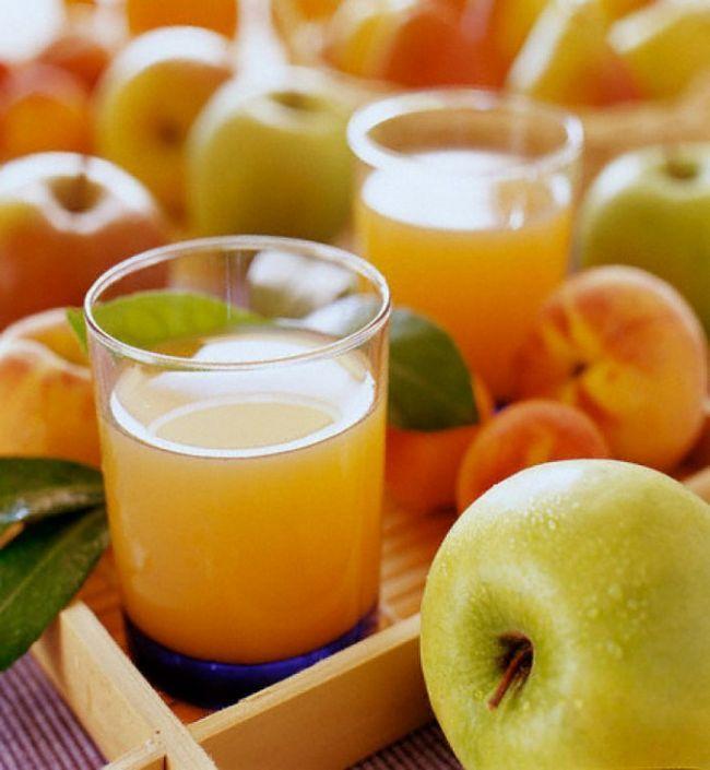 Как осветлить яблочный сок