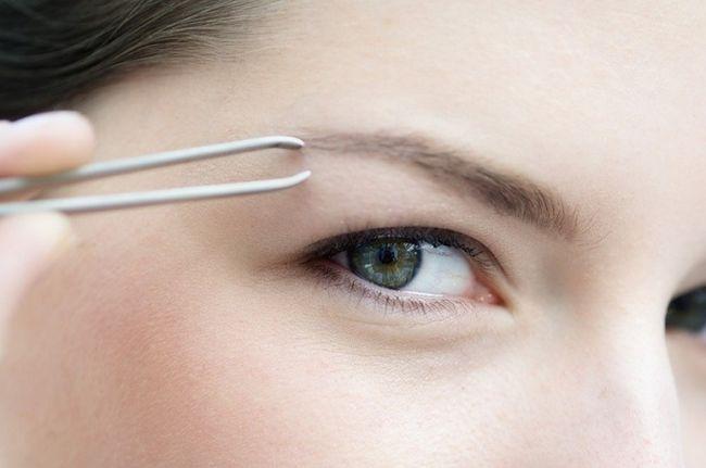 Как откорректировать брови