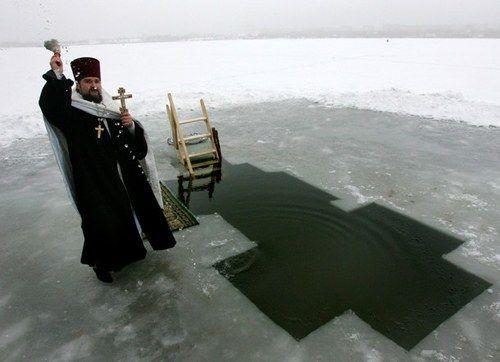 Как отмечают крещение
