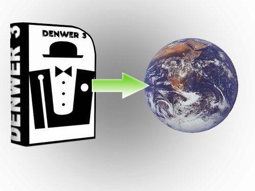 Как перенести сайт с локального сервера