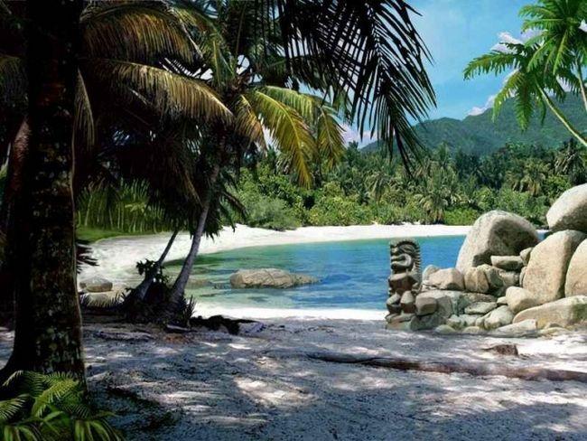 Как попасть на дикие острова