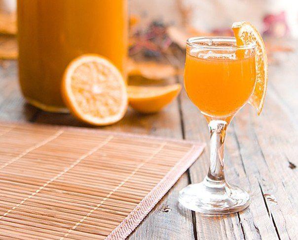 Как приготовить апельсиновый ликер