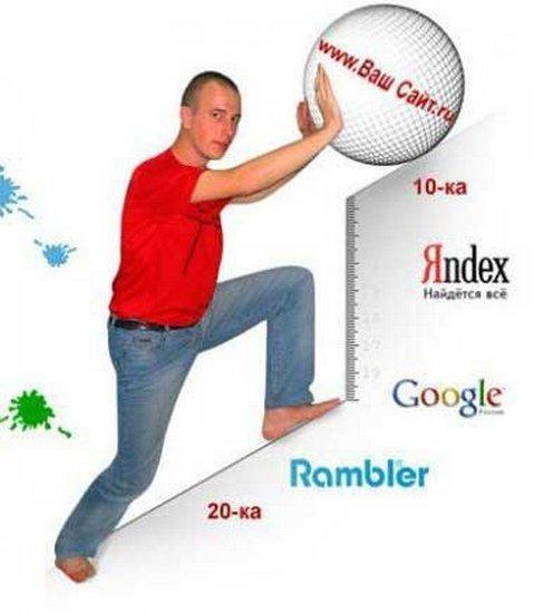 Как продвигать сайт в поисковой системе