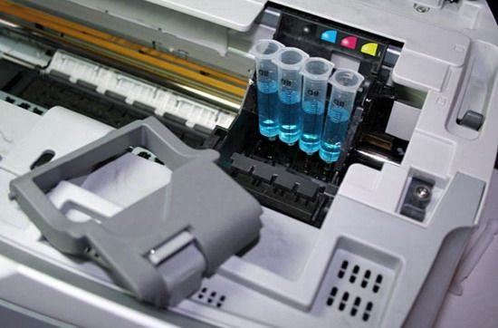 Как промыть печатающие головки принтера