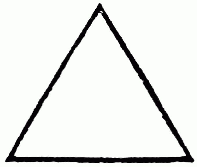 Как провести высоту треугольника