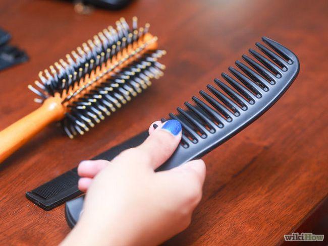 Как распутать волосы