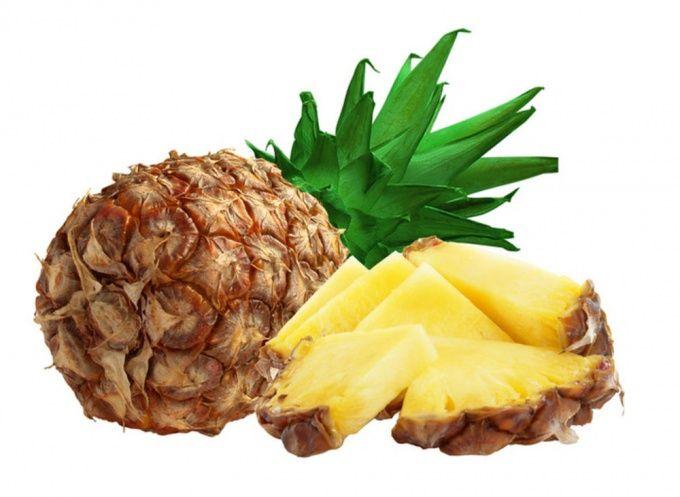 Как разделывать ананас