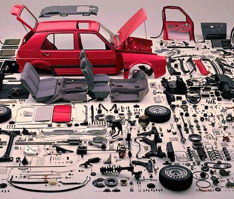 Как разобрать машину