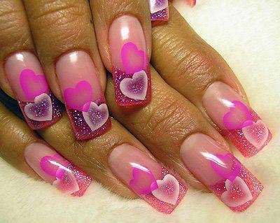 Как сделать аквариум на ногтях