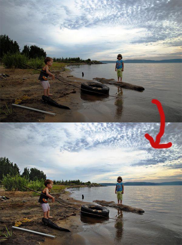 Как сделать hdr фото