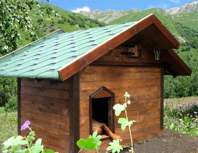 Как построить будку собаке