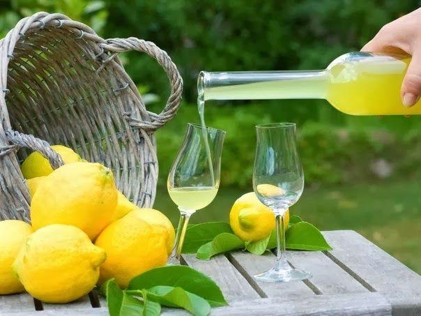 Как сделать лимонный ликер «лимончелло»