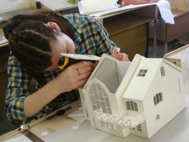 Как сделать макет дома