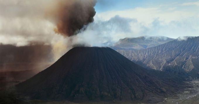 Как сделать макет вулкана