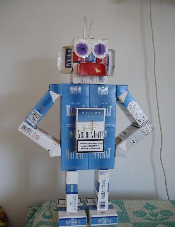 Как сделать робота детям