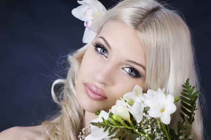 Как сделать самой свадебный макияж