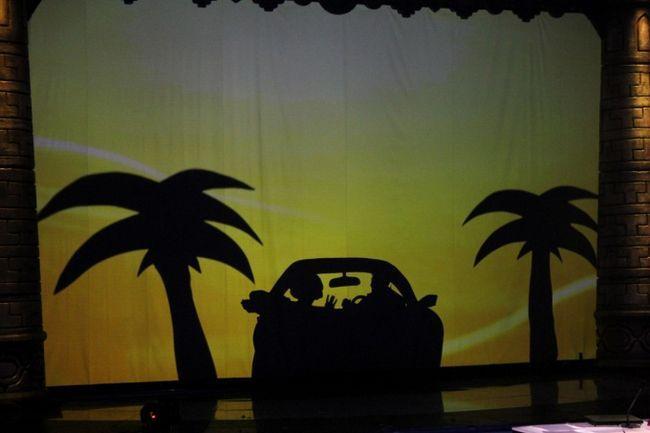 Как сделать теневой театр