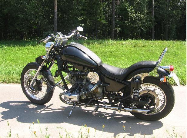 Как собрать мотоцикл урал