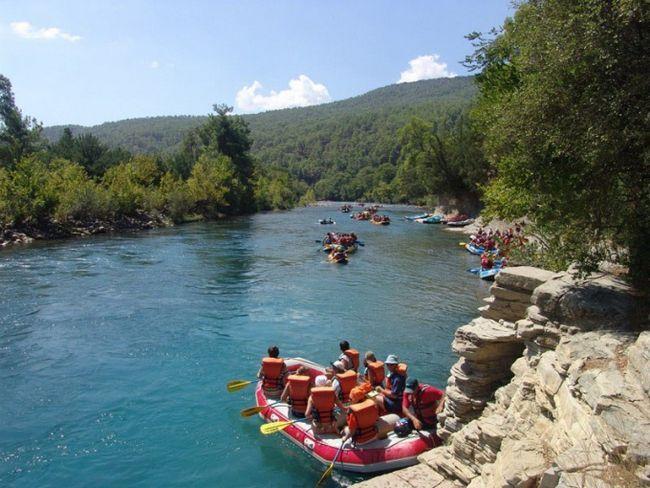 Как собраться в поход на реку