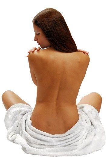 Как согнать жир со спины