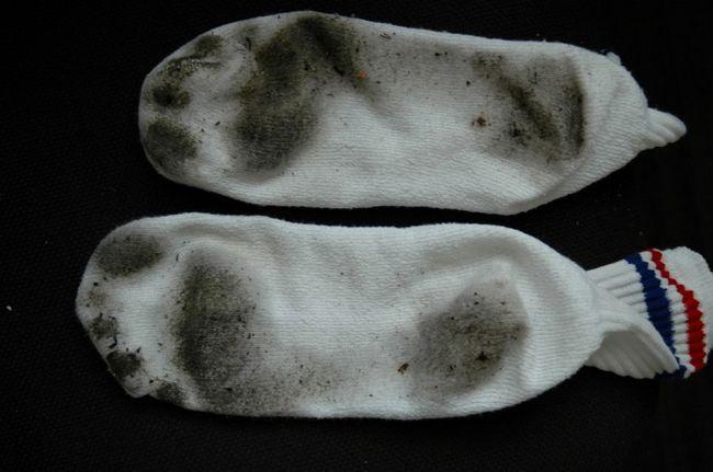 Как сохранить свежий запах носков?