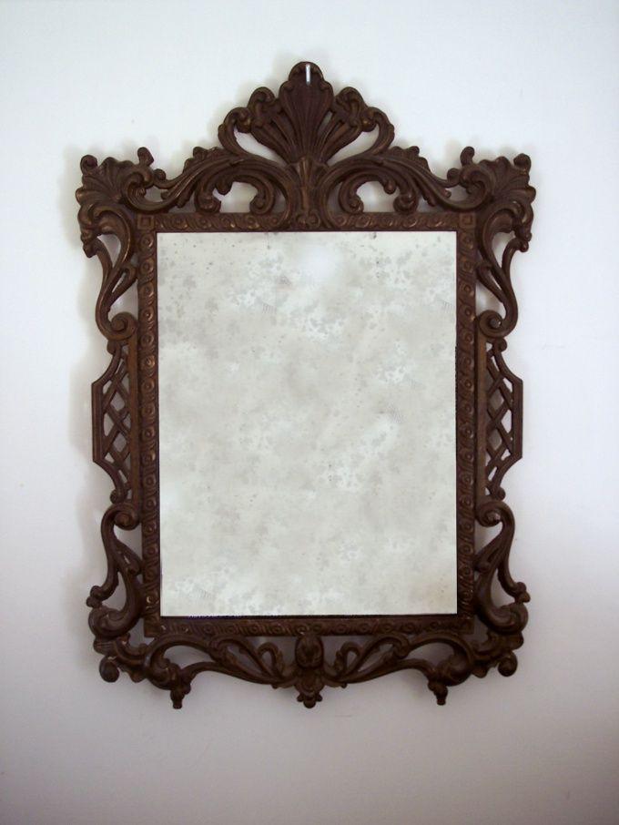 Как состарить зеркало