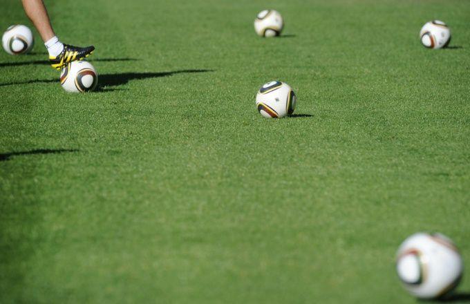 Как тренировать футболу