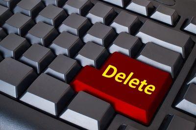 Как удалить блог