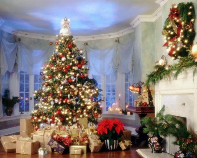 Как украсить зал к новому году