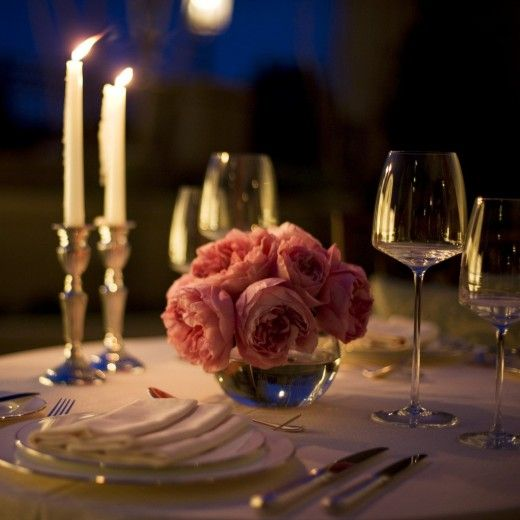 Как устроить дома романтический вечер