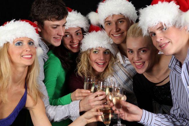 Как встретить новый год в компании