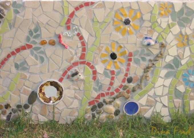 Как выкладывать мозаику